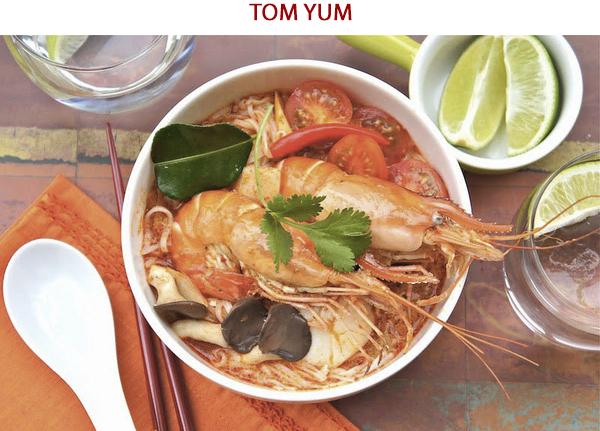 Tom Yum - Ẩm thực đường phố Thái Lan