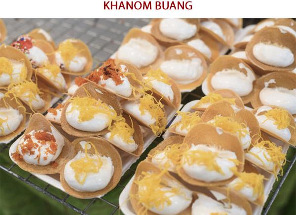 Khanom Buang - Ẩm thực đường phố Thái Lan