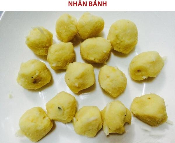 Cách làm nhân bánh phu thê Bắc Ninh