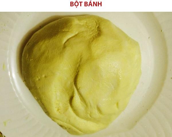 Cách làm bột bánh phu thê Bắc Ninh