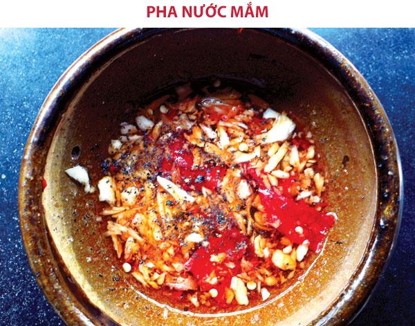 Cách pha nước mắm rim cá lóc chua ngọt