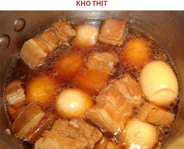 Cách làm thịt kho tàu ngày Tết