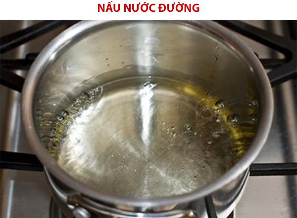 Nấu nước đường