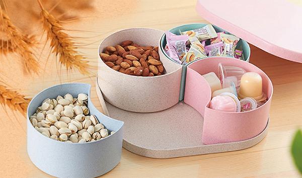 Cách bày bánh kẹo ngày Tết