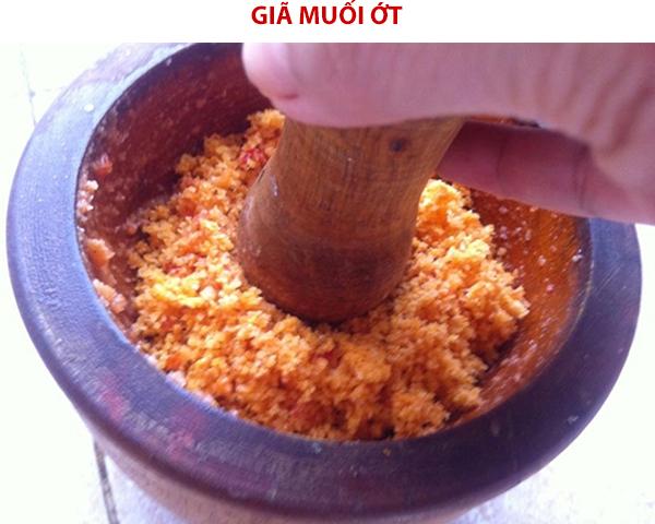 Cách làm muối ớt