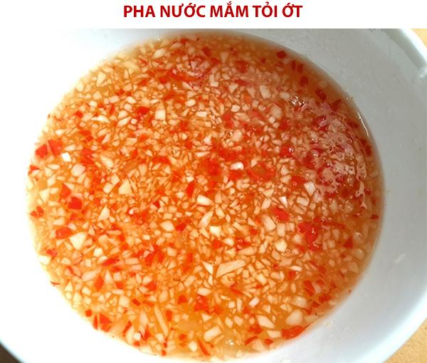 Làm nước mắm chua ngọt
