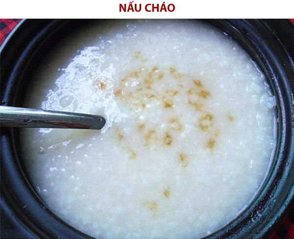Cách nấu cháo tía tô giải cảm