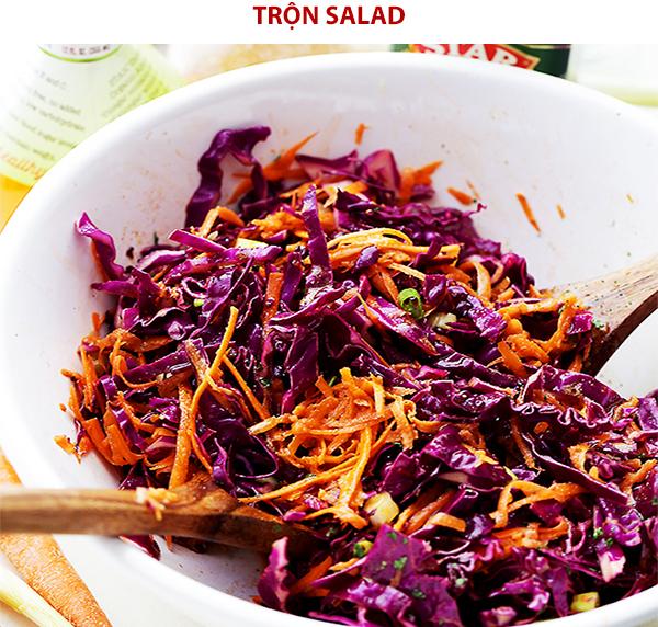 Cách làm salad bắp cải trộn mayonnaise