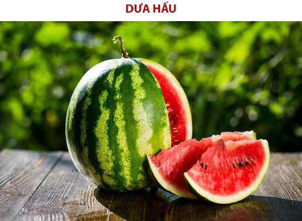 Thìn ăn dưa hấu