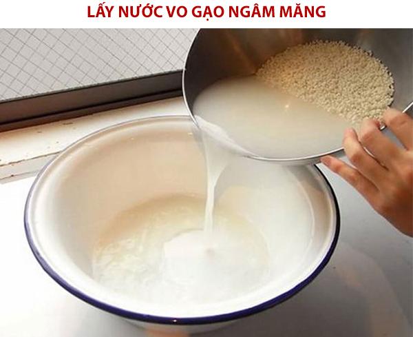 Cách làm măng chua bằng nước vo gạo