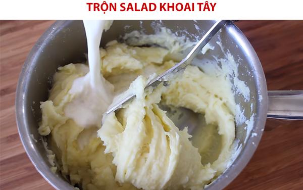 Cách làm salad khoai tây nghiền