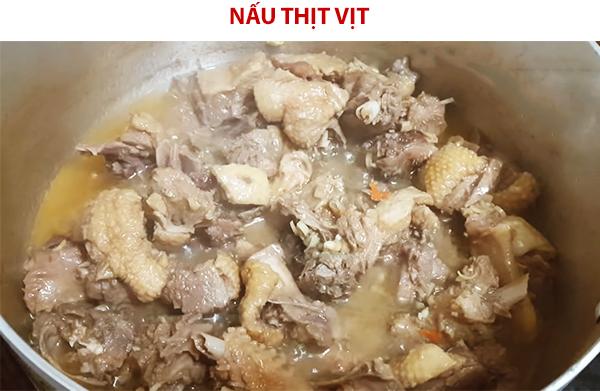 Cách nấu thịt vịt giả cầy