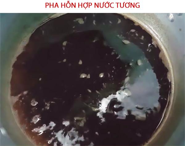 Cách pha hỗn hợp nước tương