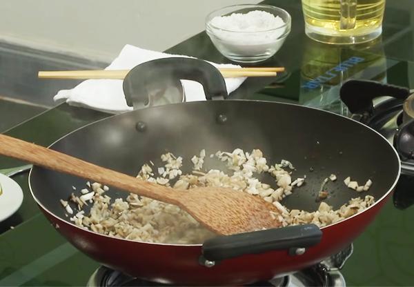 Cách làm đậu hũ Tứ Xuyên chay