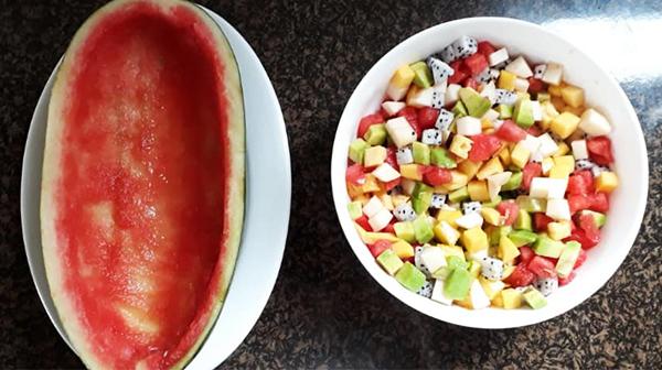 Cách làm rau câu trái cây tươi