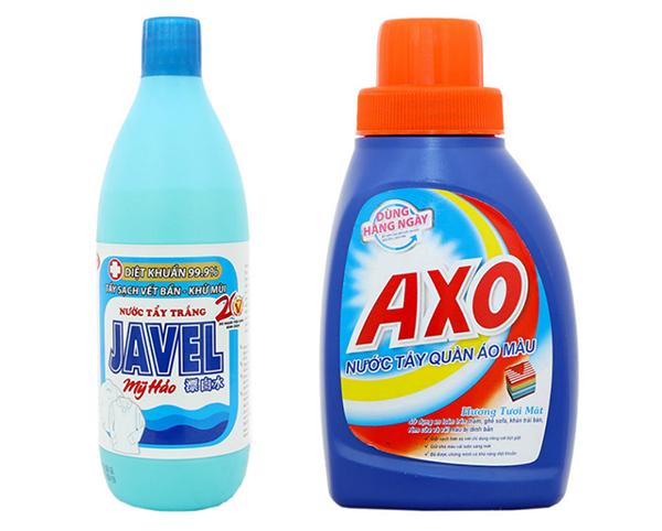 cách làm sạch nồi inox bị ố vàng bằng nước tẩy
