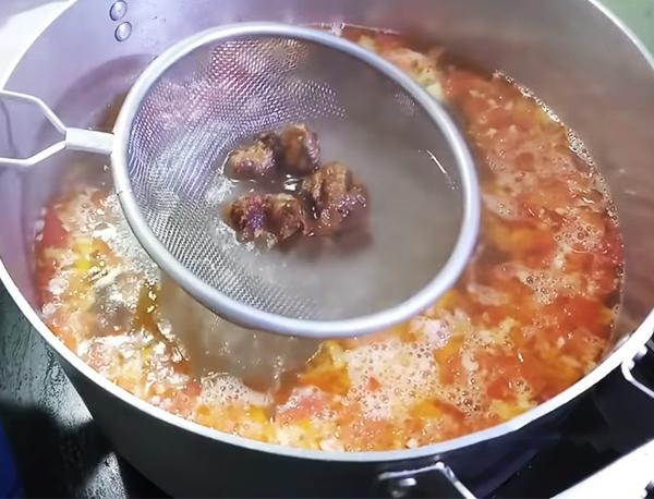 Cách nấu lẩu cá bóp măng chua
