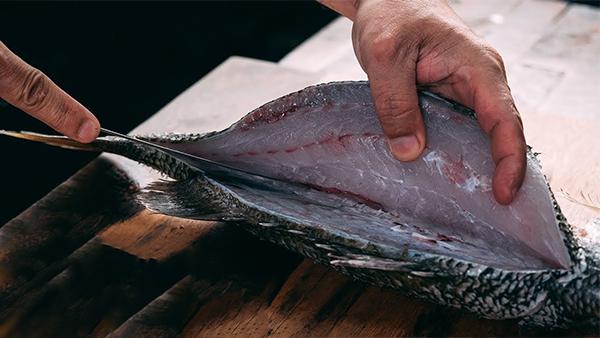 Sơ chế cá chẽm