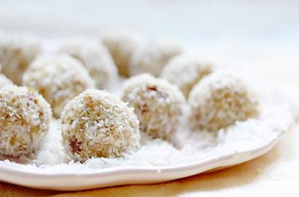 Cách làm bánh bao chỉ nhân đậu phộng dừa nạo