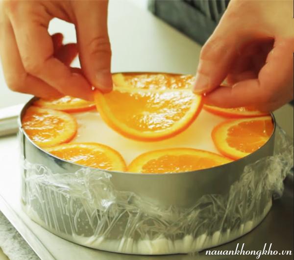 Cách làm bánh mousse cam
