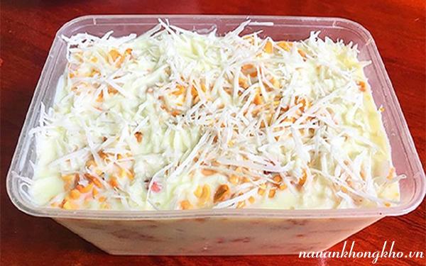 Cách làm kem chuối hộp
