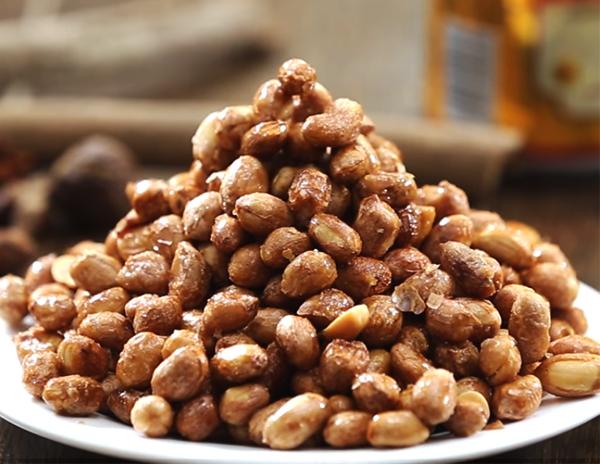 Cách làm đậu phộng húng lìu