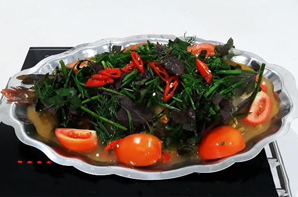 Cách làm cá chép om dưa cải