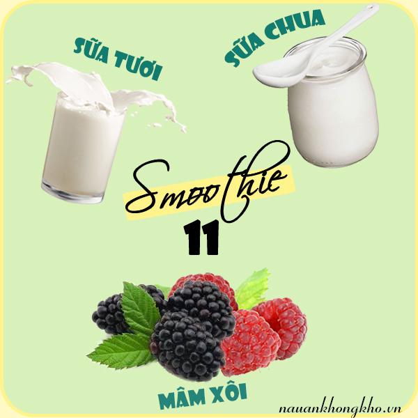 Cách làm smoothie giảm cân