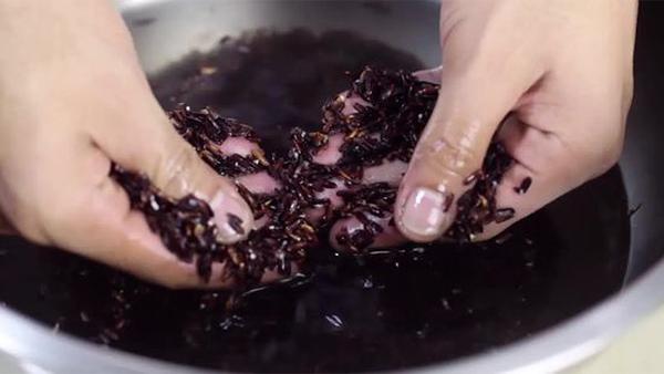 Cách làm cơm rượu nếp than