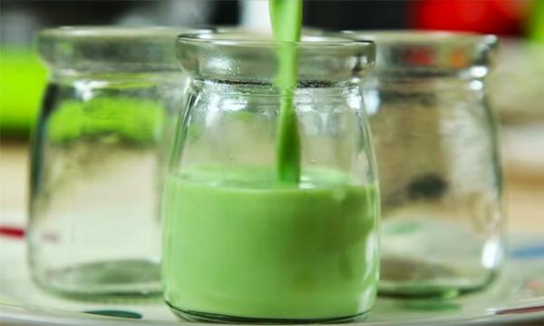 Cách làm sữa chua matcha
