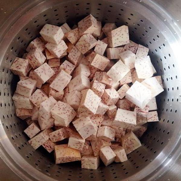 Cách nấu chè khoai môn nước cốt dừa