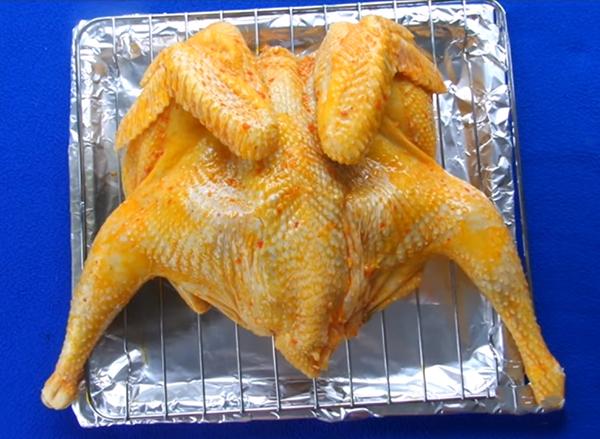 Cách làm gà nướng muối ớt