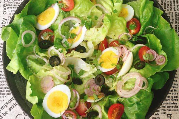 Cách làm salad trộn dầu giấm