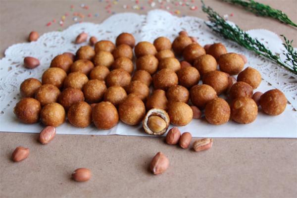 Cách làm đậu phộng da cá
