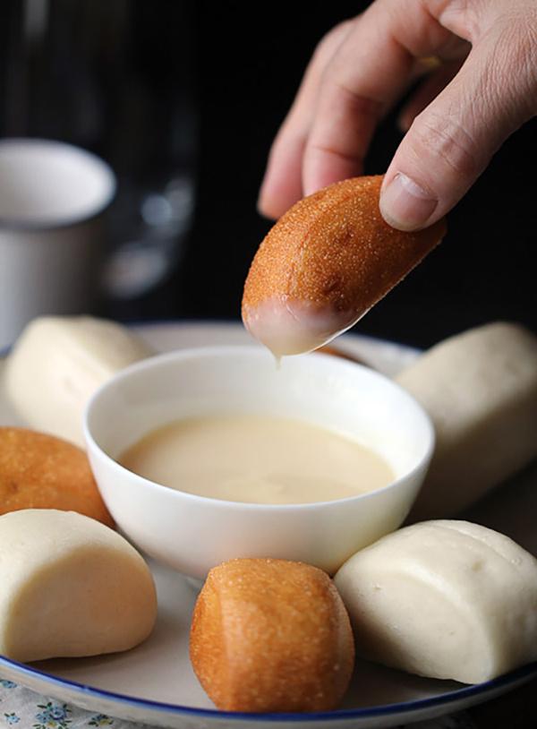Cách làm bánh bao chay chiên