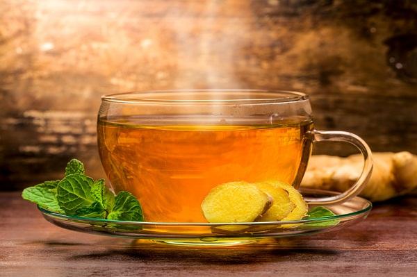 Cách làm trà gừng giải cảm