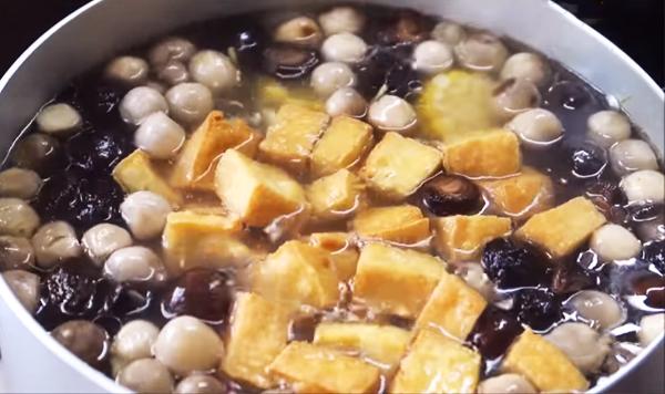 Cách nấu nui chay