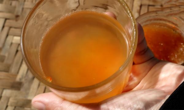 Cách làm trà bưởi mật ong giảm cân