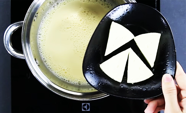 Cách nấu rau câu phô mai