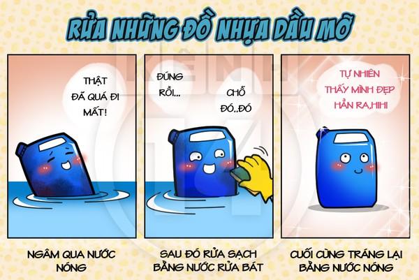 Cách rửa chén sạch và nhanh