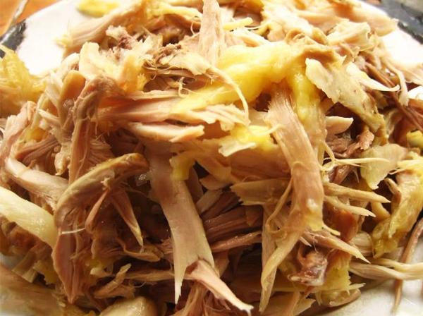 Cách làm gỏi gà bóp rau răm