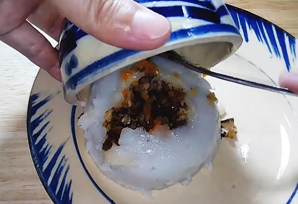 Cách làm bánh giò chay