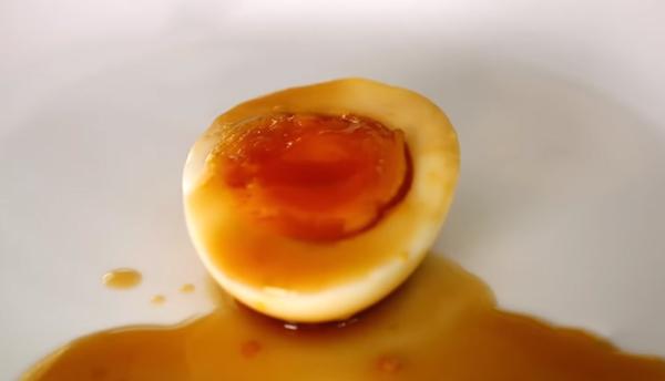 Cách làm trứng ngâm nước tương