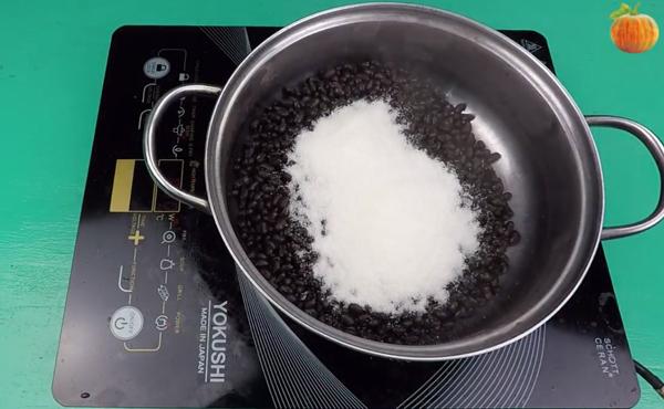 Cách nấu chè nha đam đậu đen