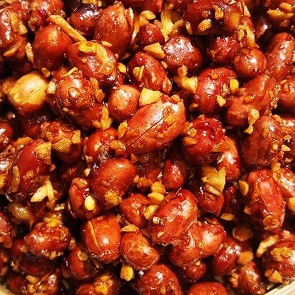 Cách làm đậu phộng rang tỏi ớt