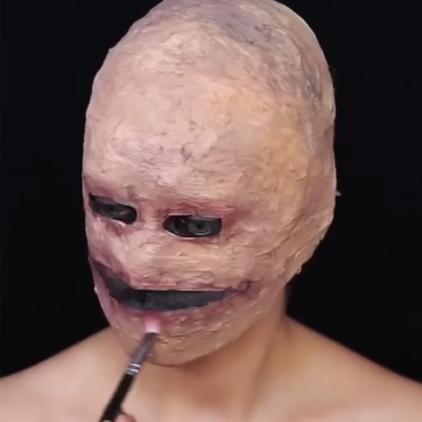 Cách làm mặt nạ halloween kinh dị