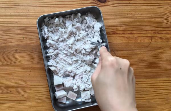 Cách làm há cảo chay hình bắp cải