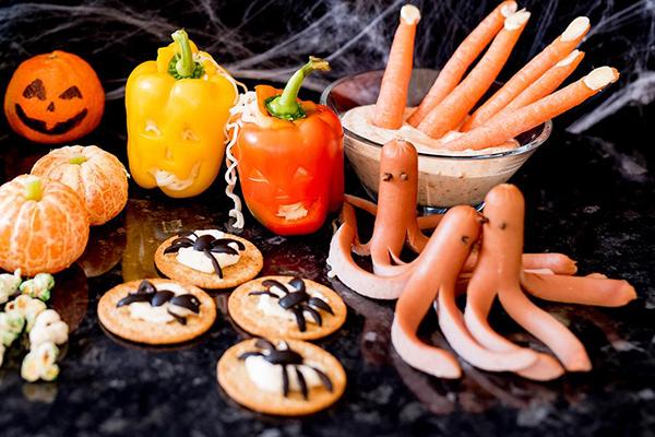 Món ăn kinh dị ngày Halloween