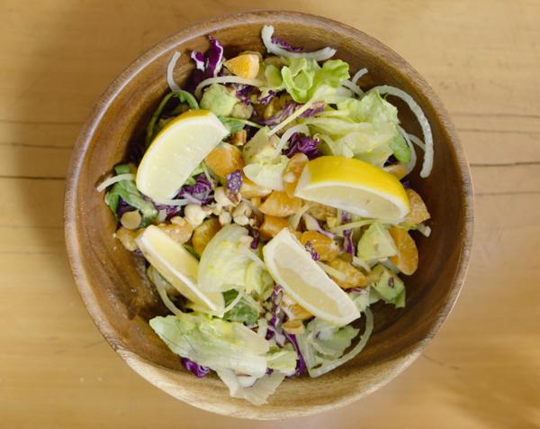 Cách làm salad cam