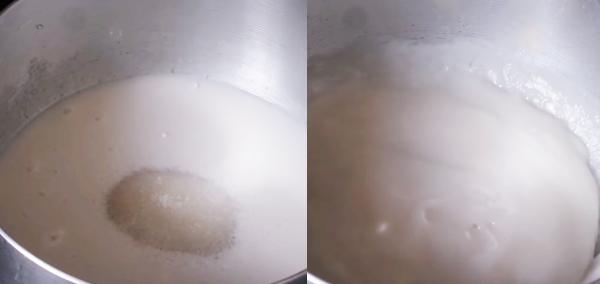 Cách làm bánh đúc gân lá dứa